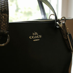 Coach Bags - Coach Leather Tote Shoulder Bag, never used